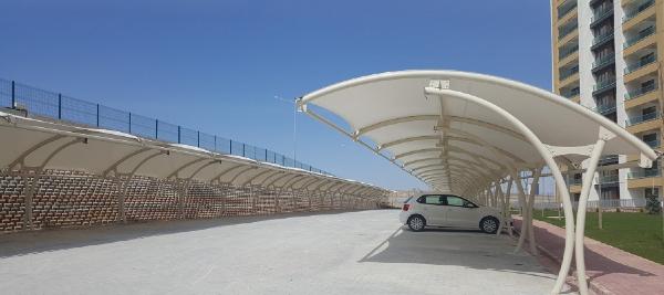 mai vom de xe o to 03 - 3 Mẫu mái vòm để xe ô tô tiện lợi, phổ biến nhất hiện nay