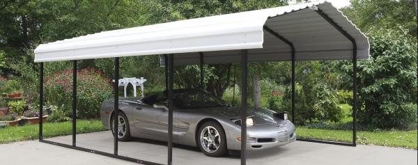 3 Mẫu mái vòm để xe ô tô tiện lợi, phổ biến nhất hiện nay