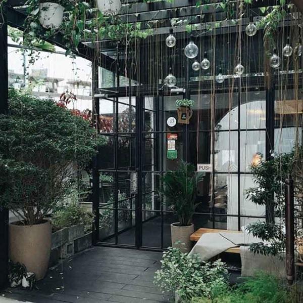 thiet ke quan cafe thep tien che 1 - 20+ Mẫu thiết kế quán cafe thép tiền chế đẹp, ấn tượng