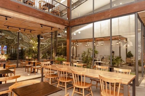 thiet ke quan cafe thep tien che 13 - 20+ Mẫu thiết kế quán cafe thép tiền chế đẹp, ấn tượng