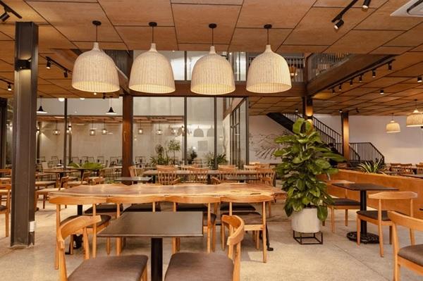 thiet ke quan cafe thep tien che 14 - 20+ Mẫu thiết kế quán cafe thép tiền chế đẹp, ấn tượng