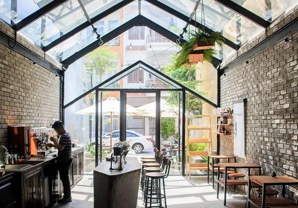 thiet ke quan cafe thep tien che 7 - 20+ Mẫu thiết kế quán cafe thép tiền chế đẹp, ấn tượng